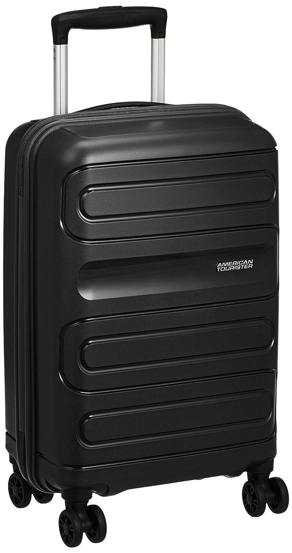 [アメリカンツーリスター] スーツケース サンサイド スピナー55 機内持ち込み可035L 55 cm 2.5 kg 111598 国内正規品 メーカー保証付き  ブラック B07H5LSTSF