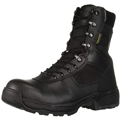"Propper Men's Series 100 8"" Side Zip Boot Waterproof Comp Toe: Shoes"