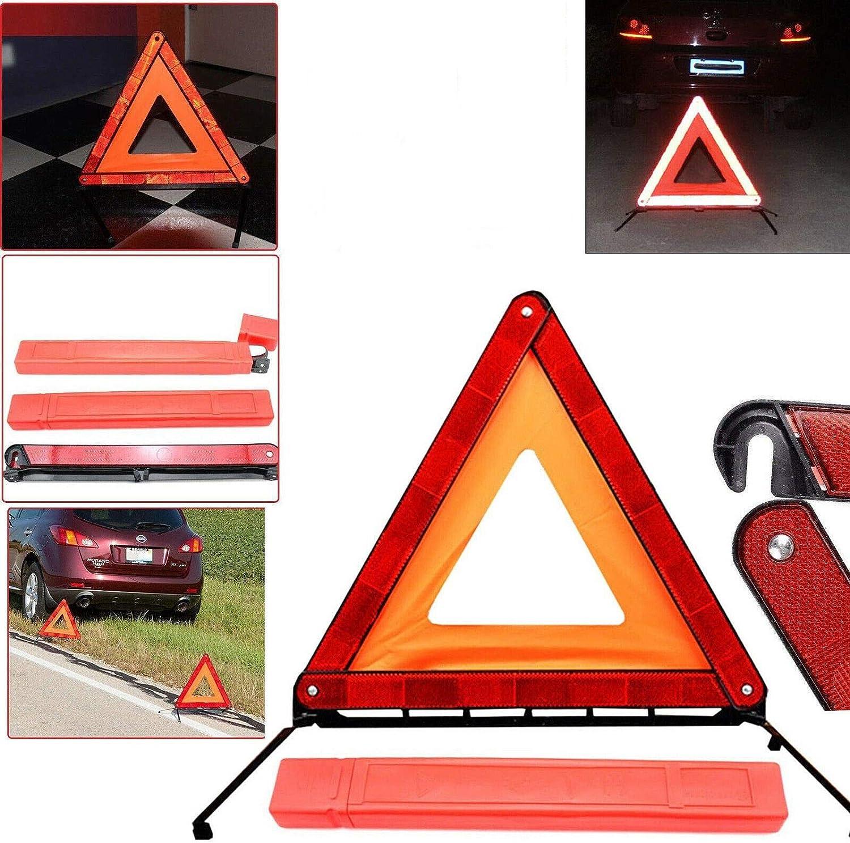 Auto Warndreieck Reflektierende Warnweste Warnweste KIT,PKW KFZ Kombitasche Auto Verbandskasten Warndreieck Set