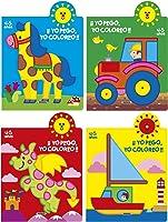 Yo Pego Yo Coloreo 4-5 Años Paquete De