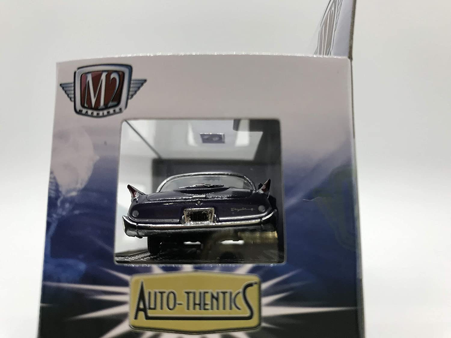M2 Machines Auto-Thentics 1960 Chrysler 300F R37 16-08 Purple Details Like NO Other Over 42 Parts