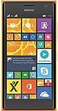 Nokia Lumia 730 Smartphone, Display 4,7 pollici, Processore Snapdragon 400 1,2GHz, Fotocamera 6,7 MP, Dual-SIM, Win 8.1, Arancione [Germania]