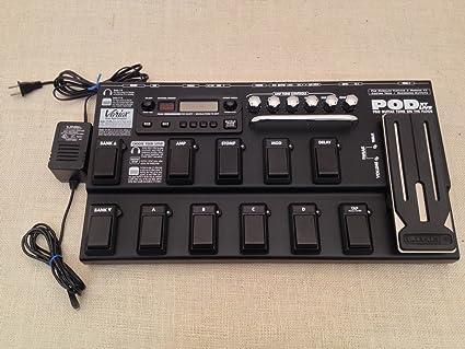 Amazon com : Line 6 Pod XT Live Pro Guitar Effects Floor
