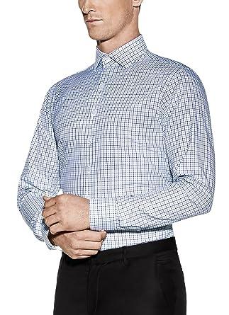 610ce86d7a5 Vardama Men s Stain Resistant   Moisture Wicking Liberty Shirt ...