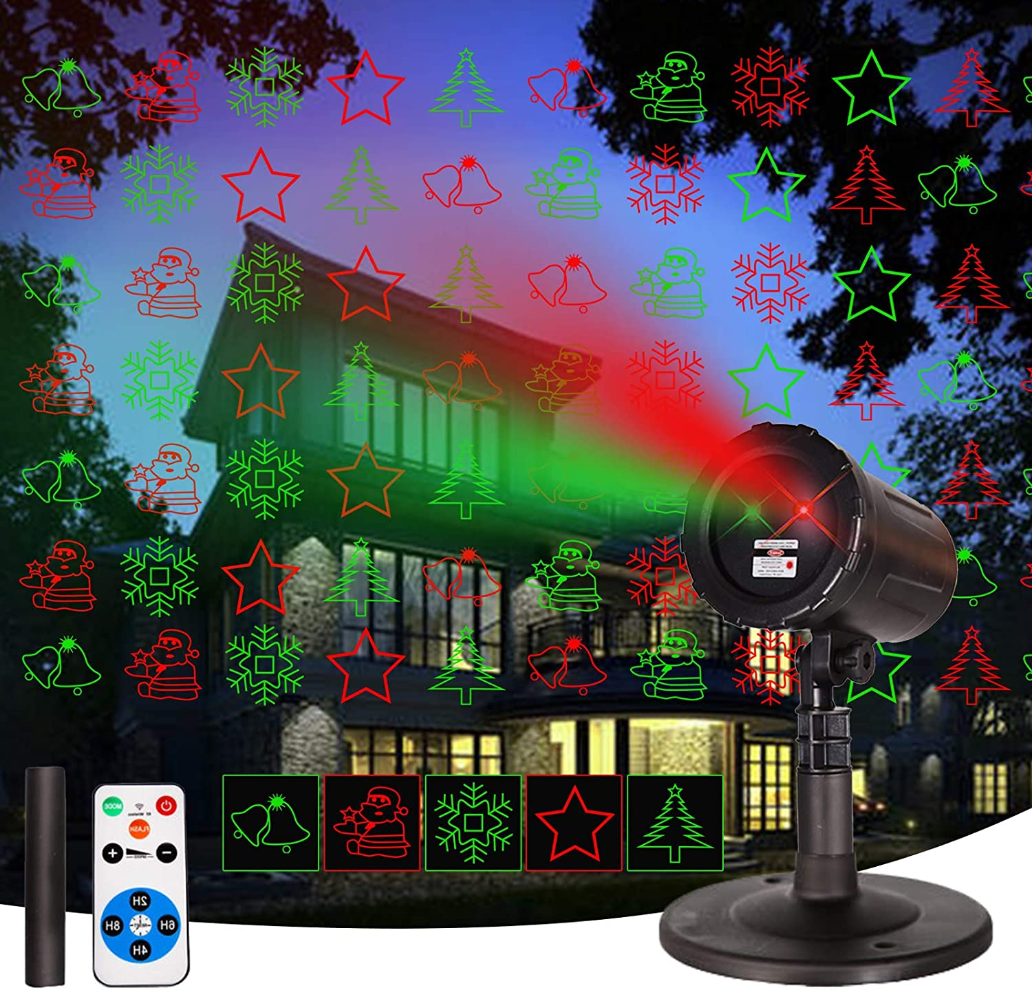 Laser Christmas Projector