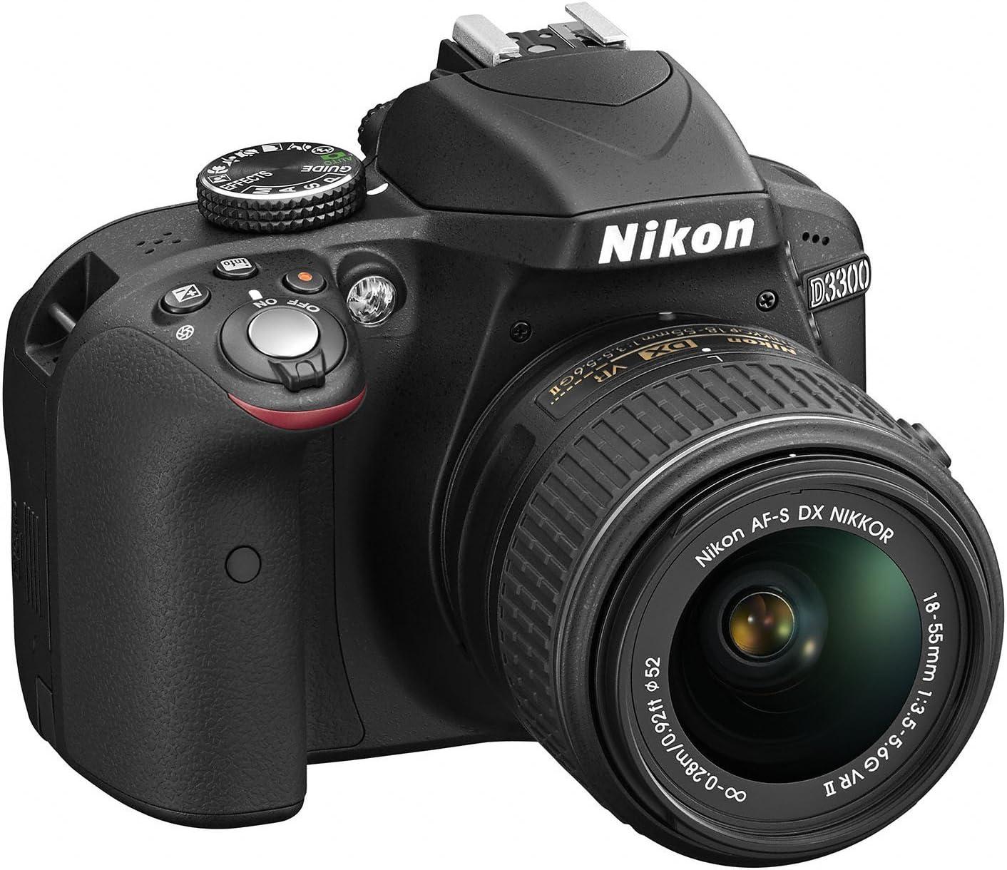 Nikon D3300 - Cámara réflex digital de 24.2 Mp (pantalla LCD de ...