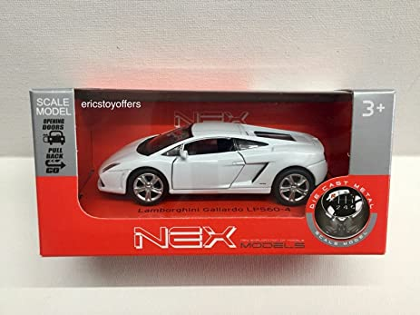 LAMBORGHINI GALLARDO LP560-4 WHITE BY WELLY OPENING DOORS NEX MODELS & Amazon.com : LAMBORGHINI GALLARDO LP560-4 WHITE BY WELLY OPENING ...