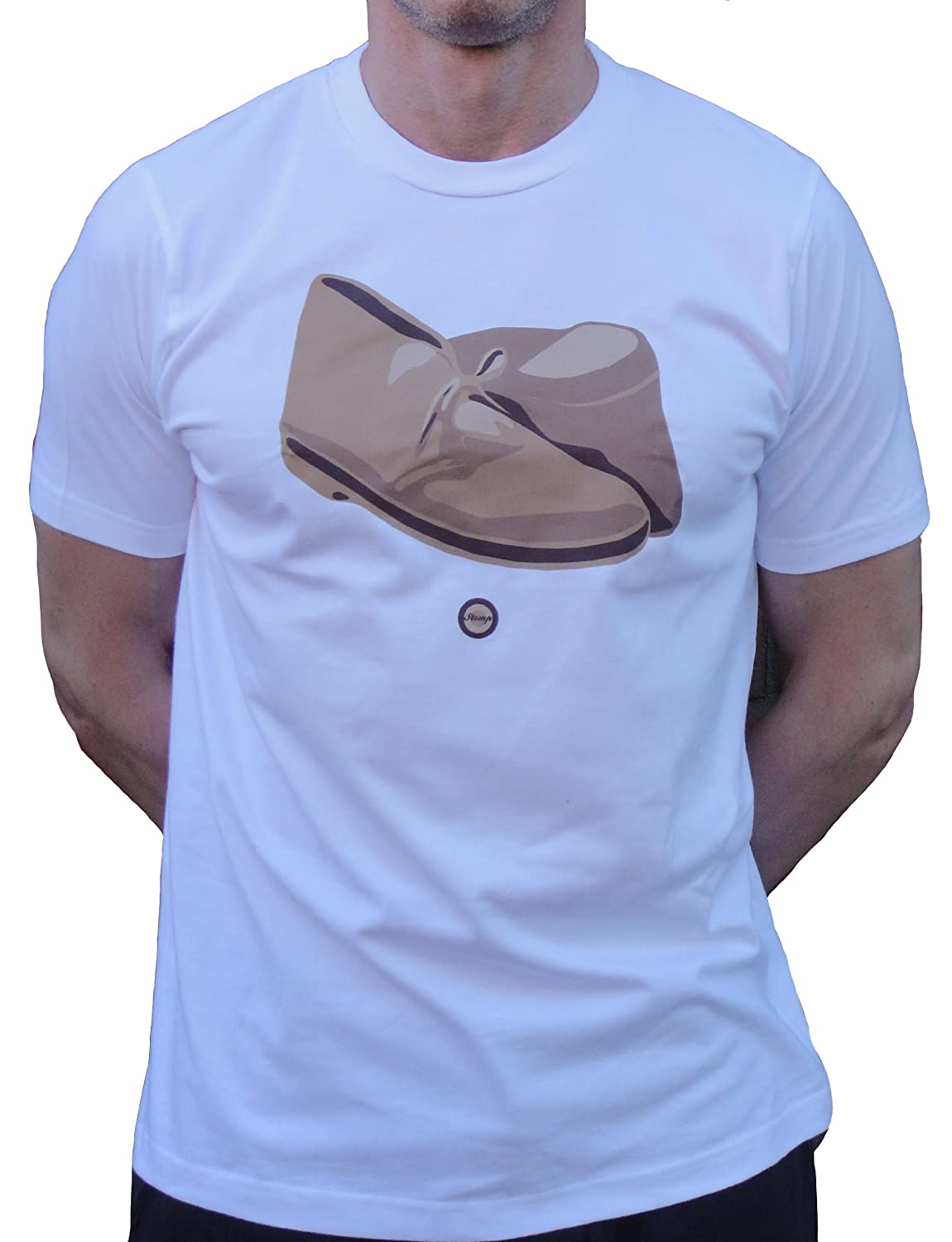 Stomp Desert Boots T Shirt Sizes S-XXL Available