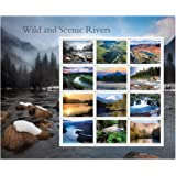 2019 Wild And Scenic Rivers Sheet of 12 US Forever First Class Postage Stamps Scott 5381