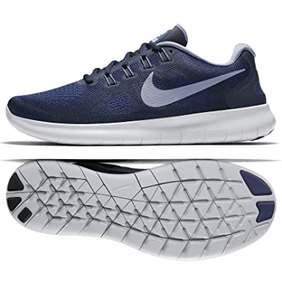 ac75681de1c Nike Free RN 2017 Binary Blue Dark Sky Blue Obsidian Men s Running Shoes  Size