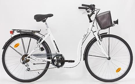 INTERBIKE EDEN - Bicicleta de paseo, 26 pulgadas, mujer, 6 ...