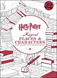 Harry Potter Magical Places & Characters Postcard Coloring Book
