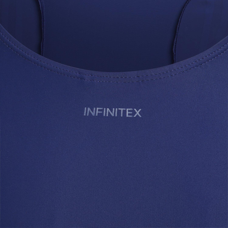 adidas Mädchen Infinitex Essence Core 3 Stripes 1 Piece