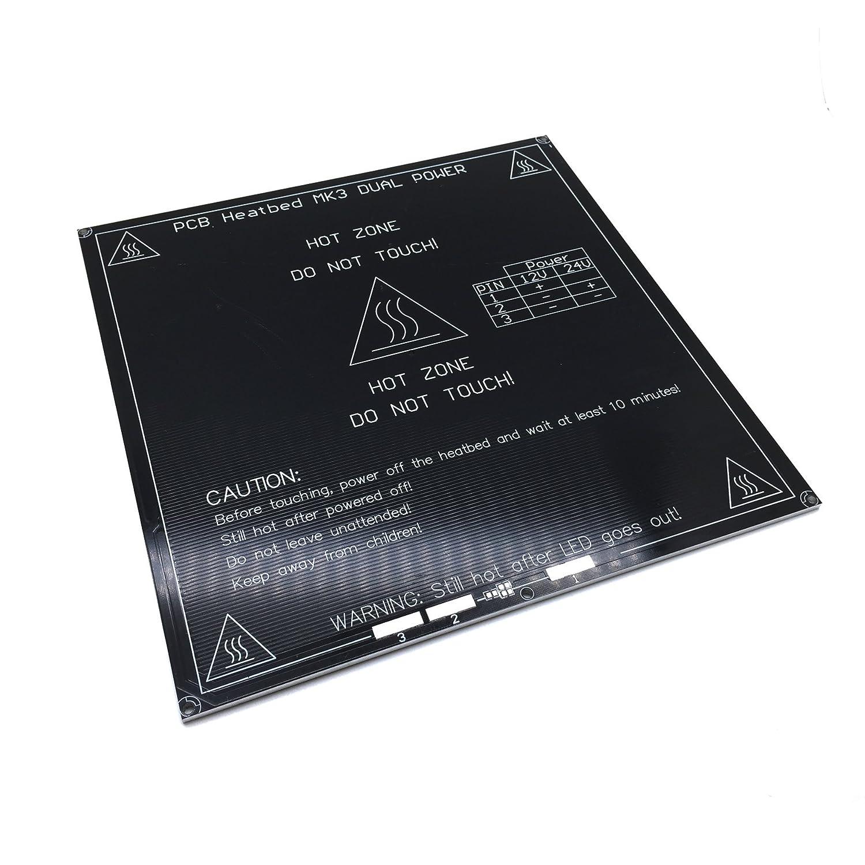 AptoFun New high-quality 3D printing platform film for 3D printer heated bed / printing bed Mk3 printing platform in black Aptotec