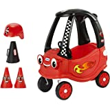 Little Tikes Racing Cozy Coupe Themed Role Play Ride-On Toy, Multicolor