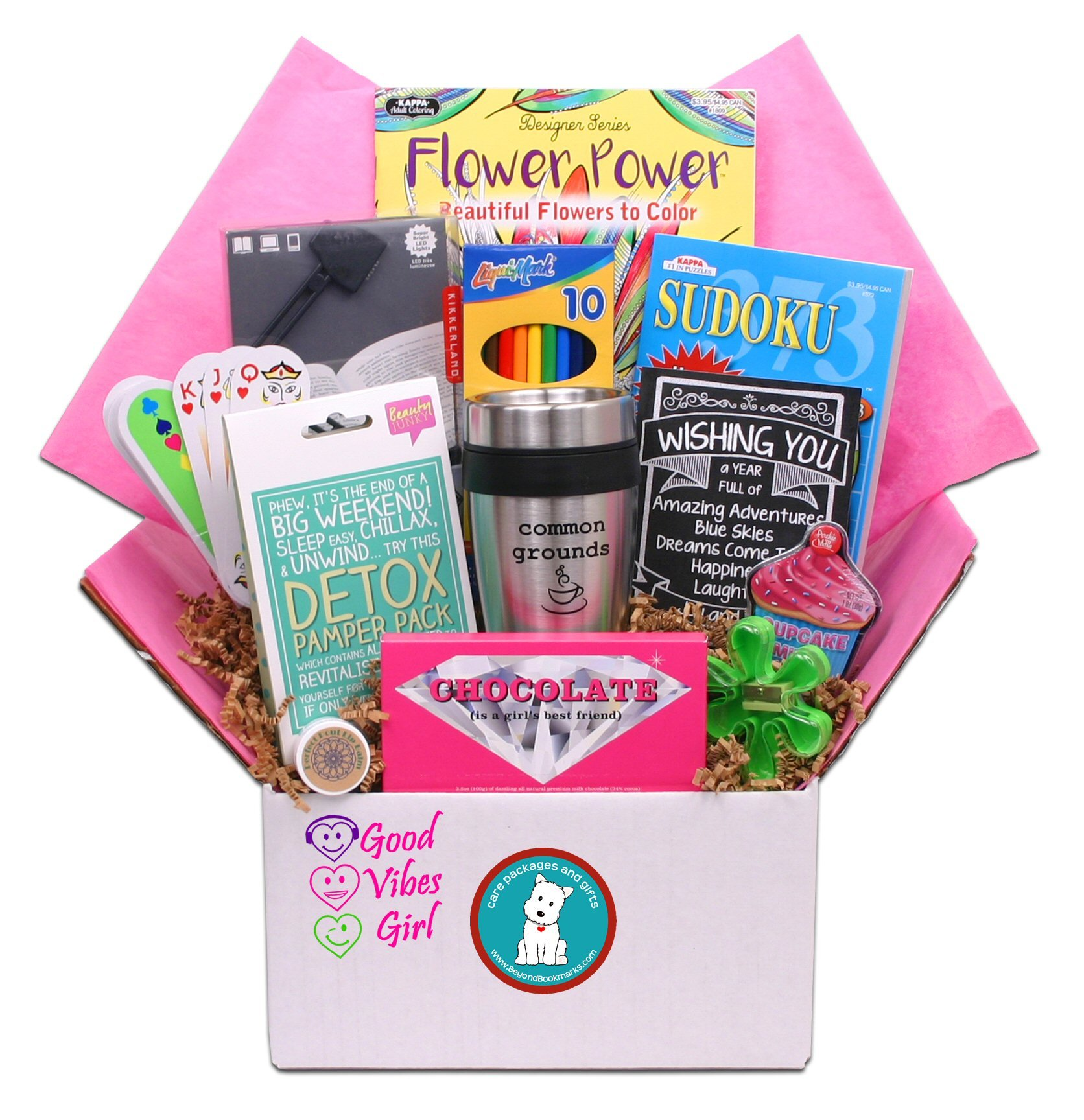 Good Vibes Gift Box Care Package Surprise