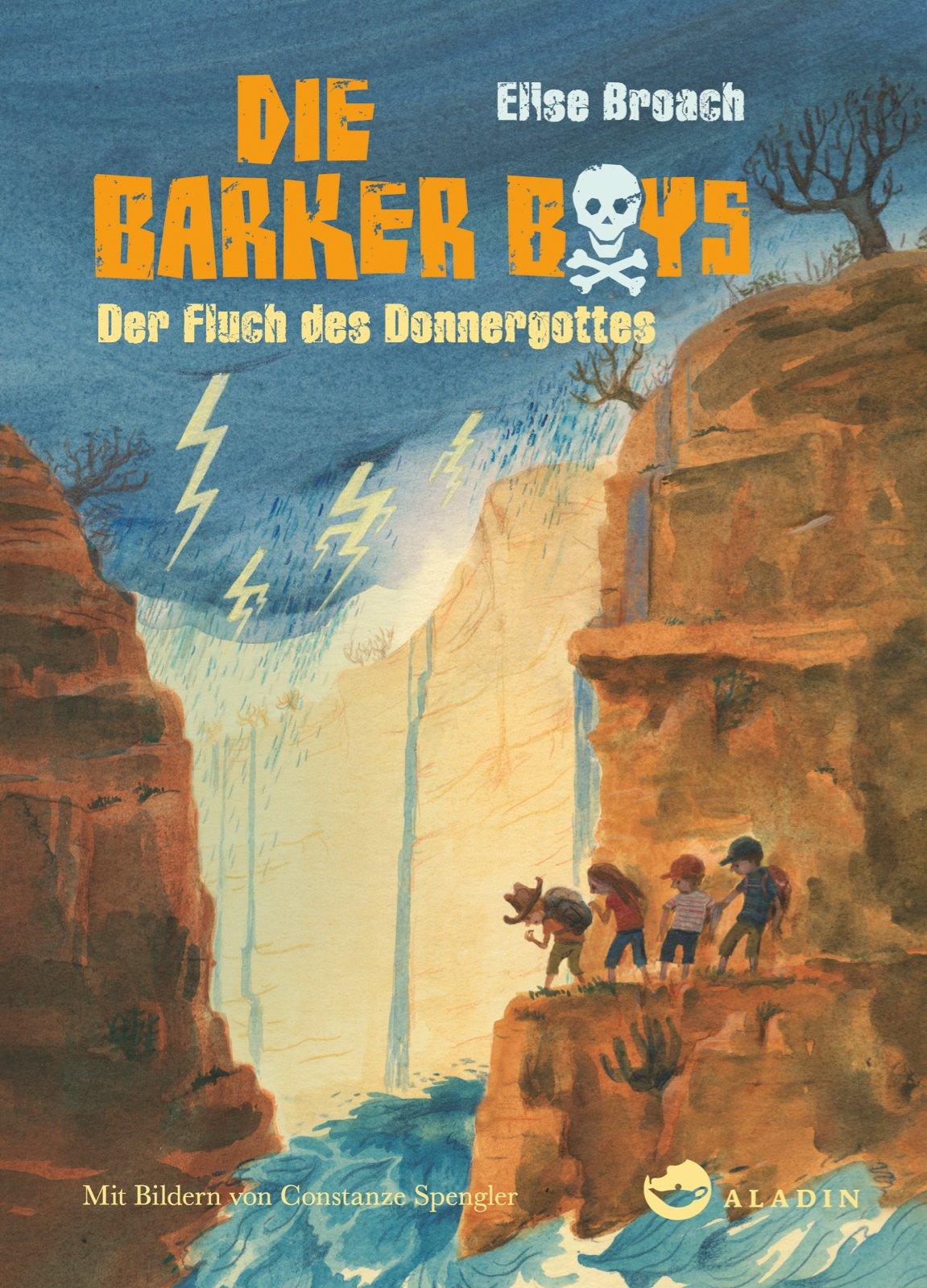 Die Barker Boys. Band 3: Der Fluch des Donnergottes