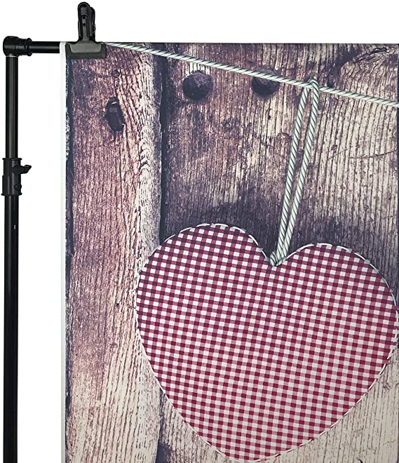 GoHeBe 10X8FT Valentines Day Theme Pictorial Cloth Photography Background Computer-Printed Vinyl Backdrop VDD005C