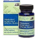 Motherlove More Milk Special Blend Vegan Capsules (60 caps) Herbal Lactation Supplement w/ Goat's Rue to Build Mammary Tissue