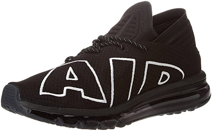 f41d4d14dd6 Nike Mens Air Max Flair Black White Mesh Trainers 8 US: Buy Online ...