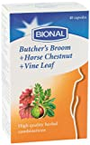 Butcher's Broom, Horse Chestnut & Vine Leaf Food Supplement - 40caps