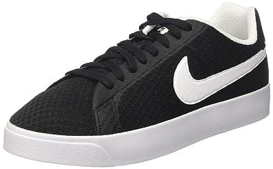sports shoes 9d8a8 18d98 Nike Court Royale LW Txt, Chaussures de Tennis Homme, Noir (Black White