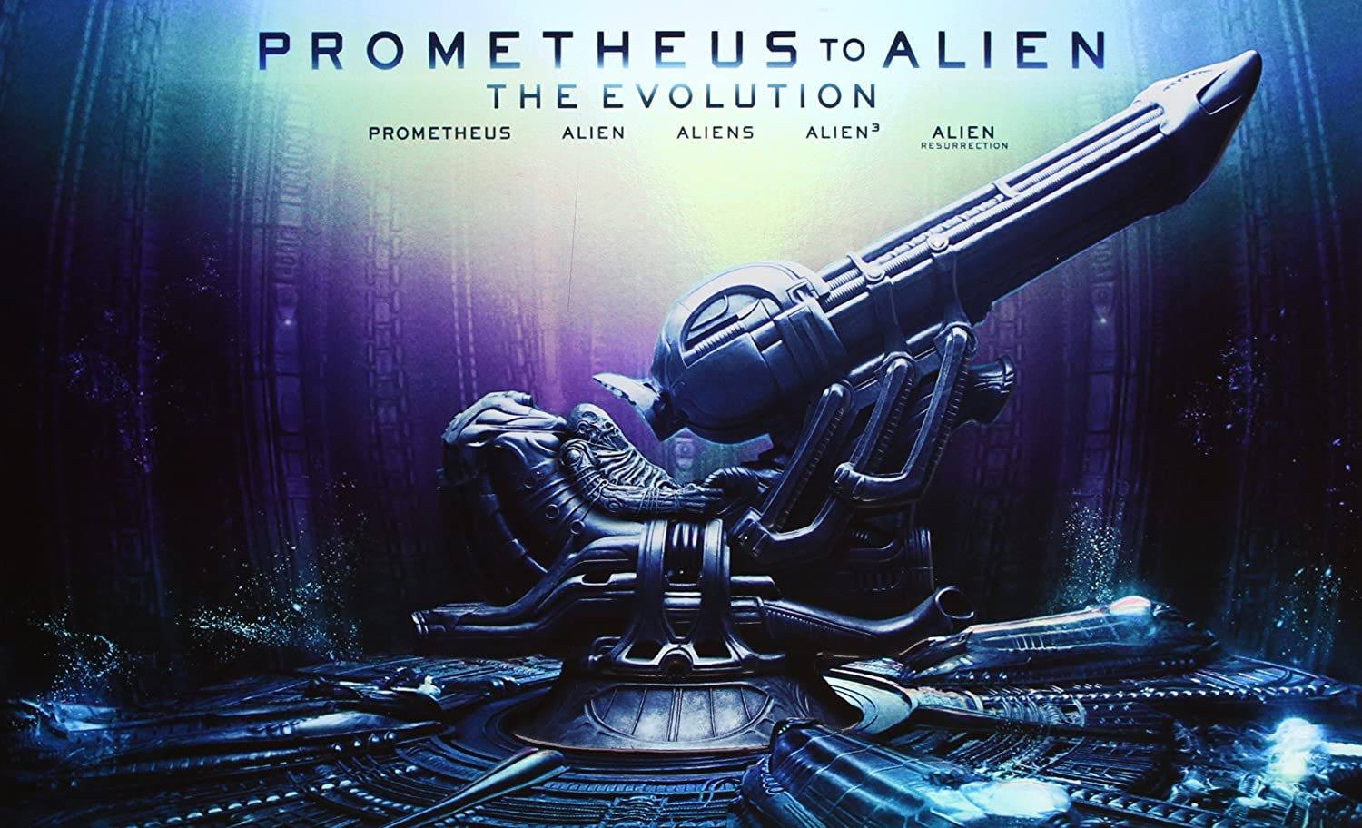 Pack Evolution: Prometheus To Alien [Blu-ray]: Amazon.es: Sigourney Weaver, Tom Skerritt, John Hurt, Veronica Cartwright, Charles Dance, Paul McGann, Winona Ryder, Dominique Pinon, Ron Perlman, Noomi Rapace, Ridley Scott, James Cameron, David