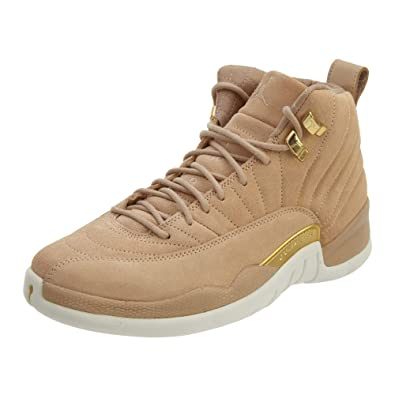 san francisco 060dc 830ee Jordan Retro 12 quot Vachetta Tan Vachetta Tan Metallic Gold (Womens) (5