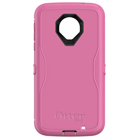 promo code ec1ad 19385 OtterBox Defender Series Case for Motorola Moto Z Force Droid Edition -  Retail Packaging - Berries N Cream (Sand/Hibiscus Pink)