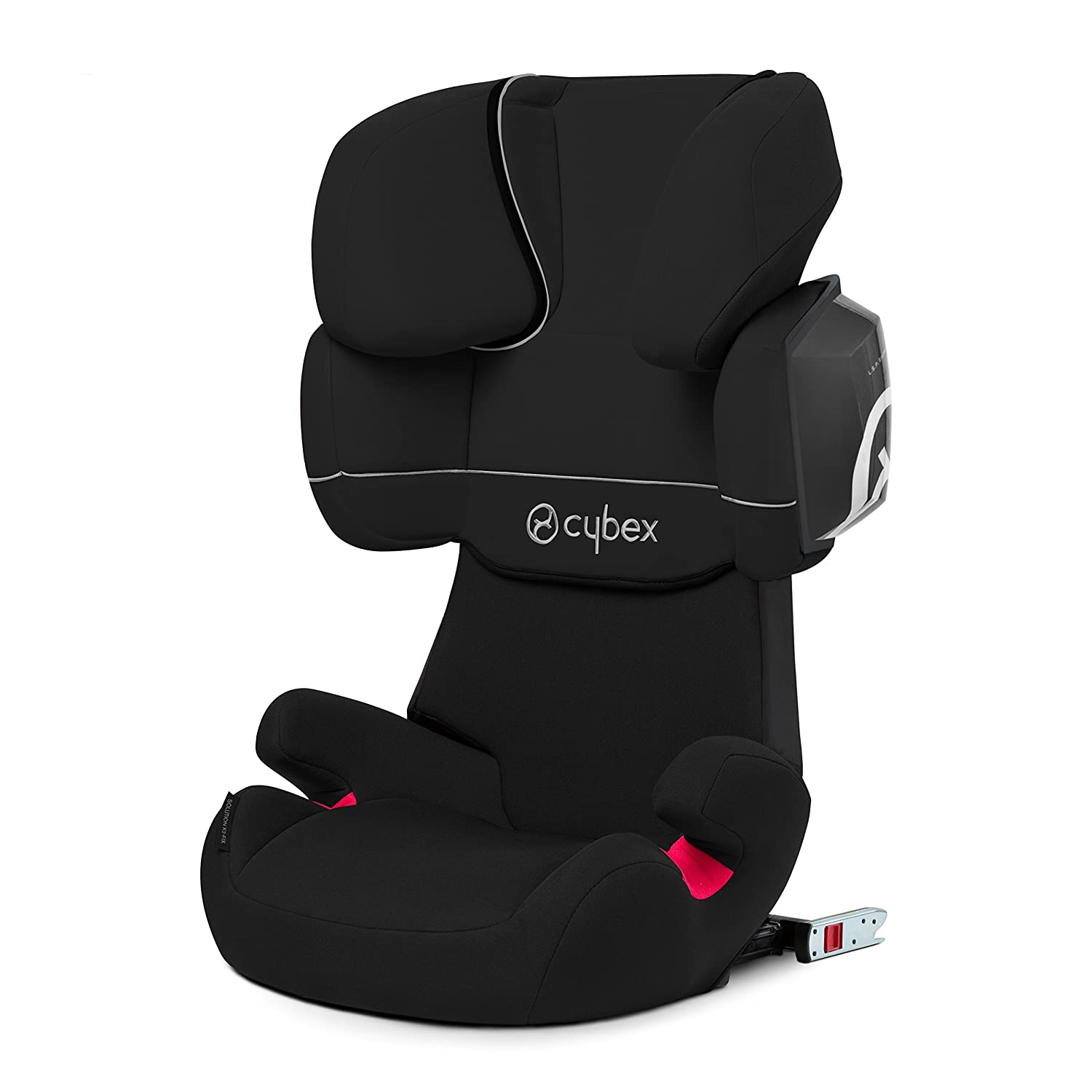 Cybex Solution X fix Silla de coche grupo kg color Pure Black