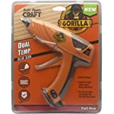Gorilla 100426 Full-Size Hot Glue Gun, Orange