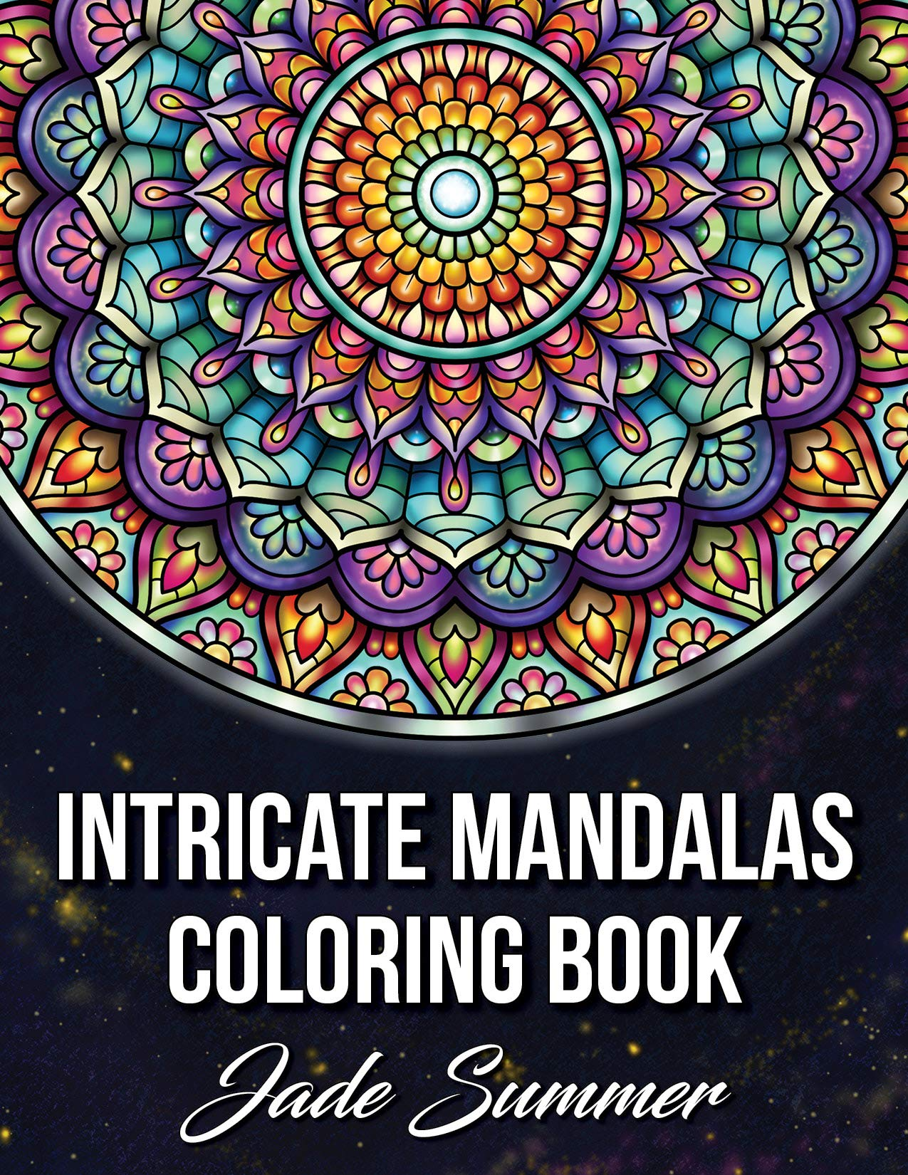 Intricate Mandalas Coloring Detailed Relaxation product image