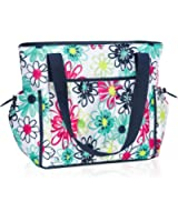 Thirty One New Day Tote in Loopsy Daisy - No Monogram - 8357