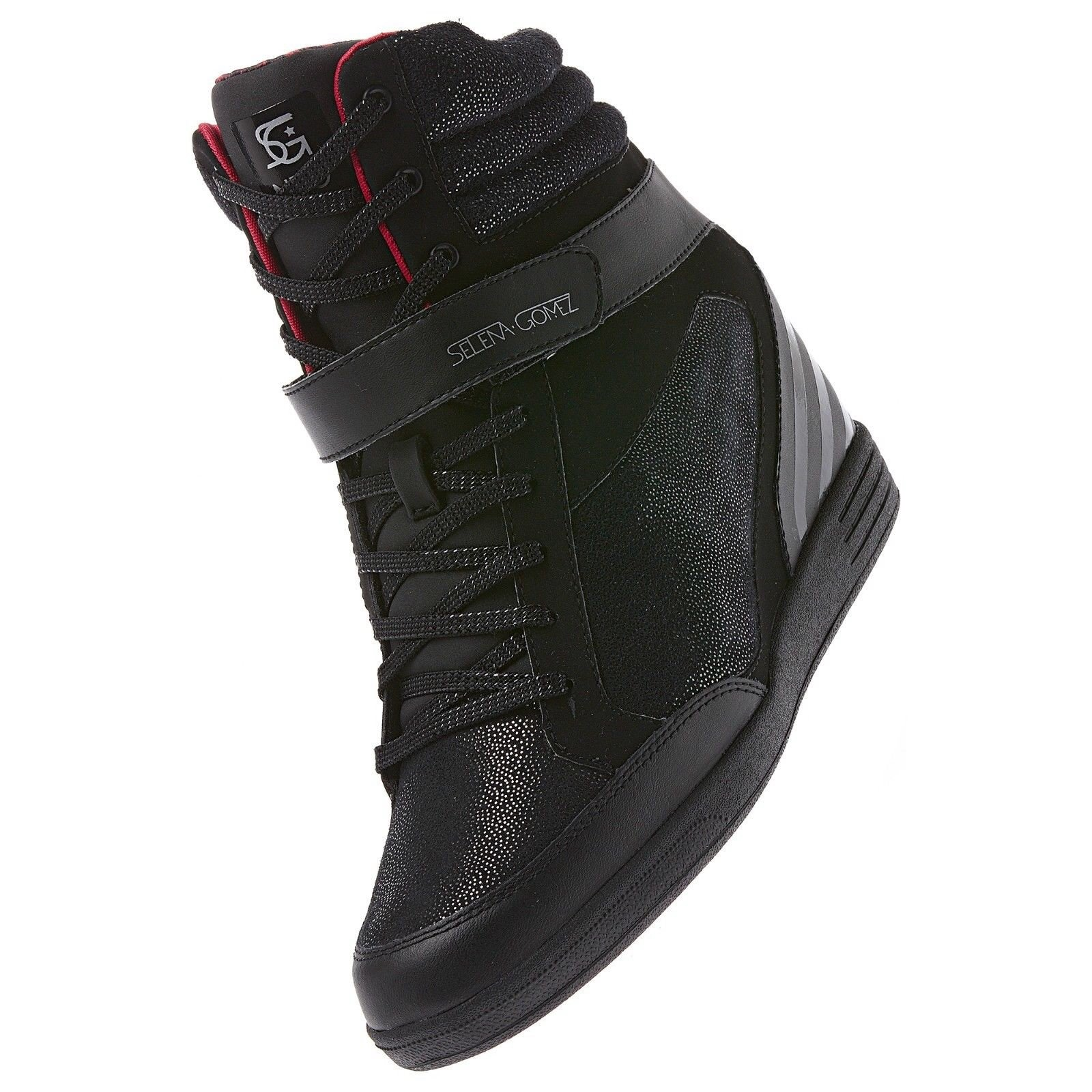 speical offer buying now wide range Galleon - Adidas NEO Selena Gomez Super Wedge Hi SG Leather ...
