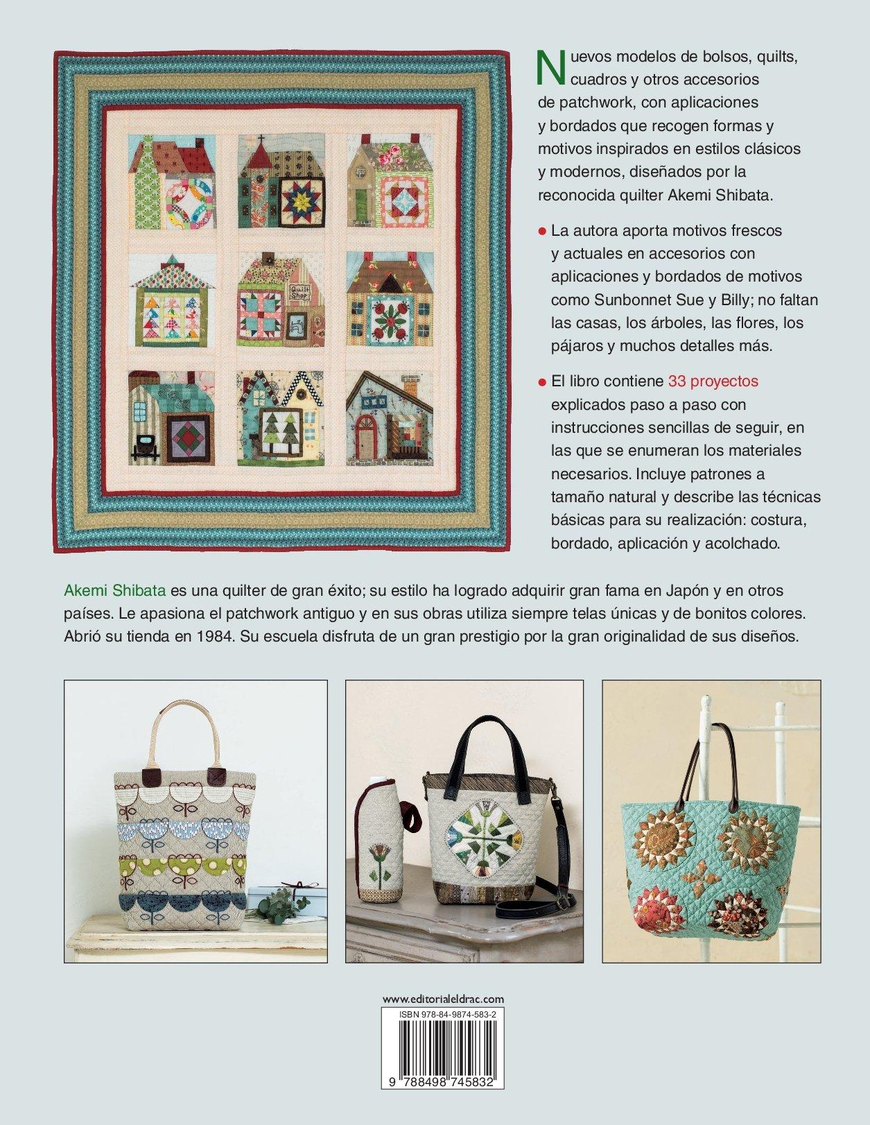 Diseños creativos de patchwork : 33 proyectos con sus patrones ...