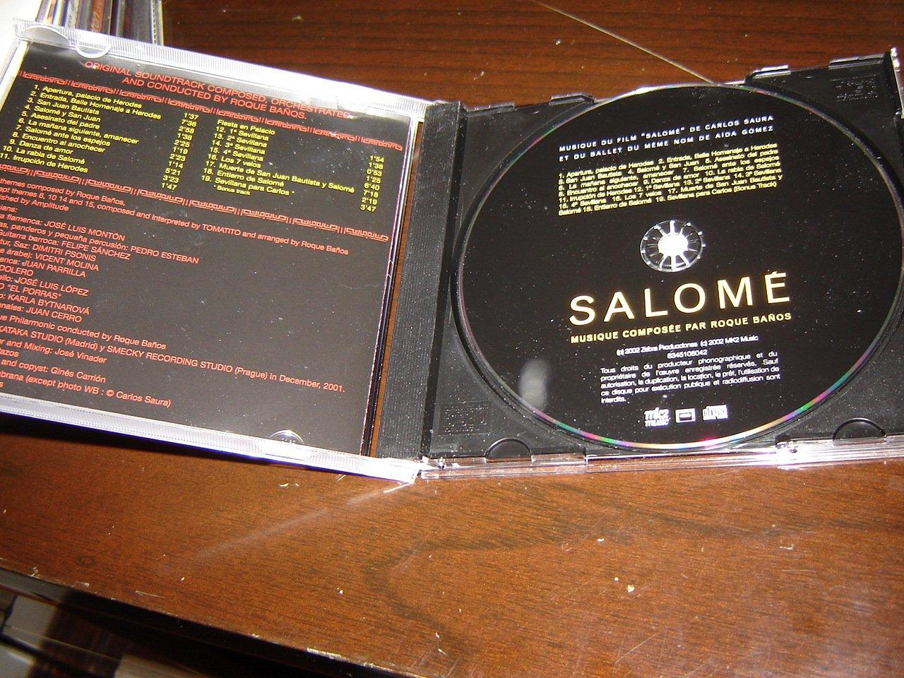 Salome / Musique Composee par Roque Banos / Import / UNE PRODUCTION DE ANTONIO SAURA POUR ZEBRA / MK2 / FILM