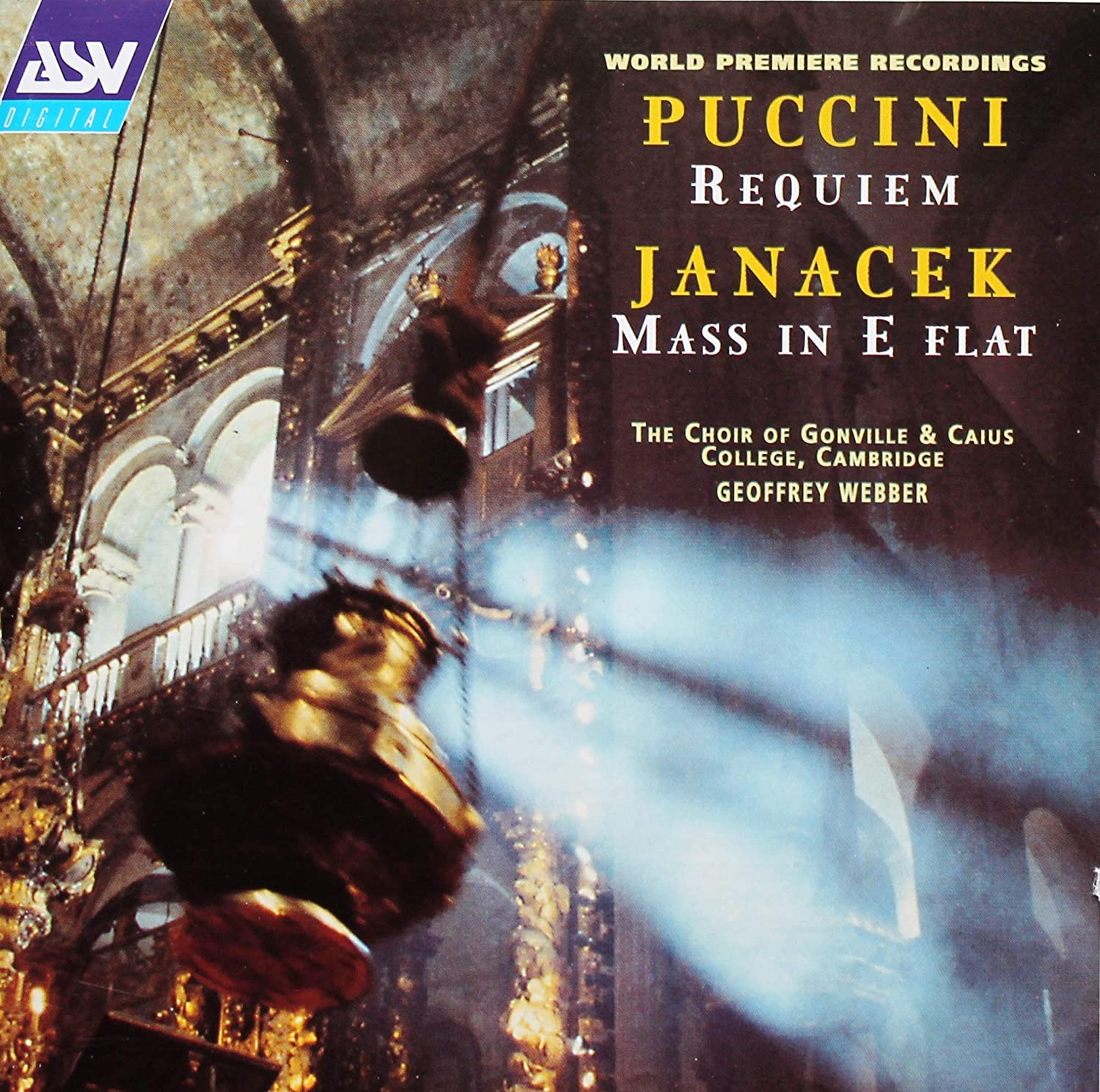 Puccini Janacek: Sacred Choral Works sale Premiere of Max 57% OFF Requiem World