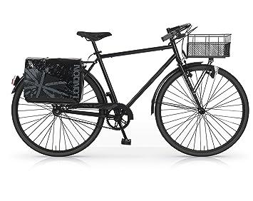 MBM Notting Hill - Bicicleta de Paseo para Hombre, Cuadro de Acero Talla 52,