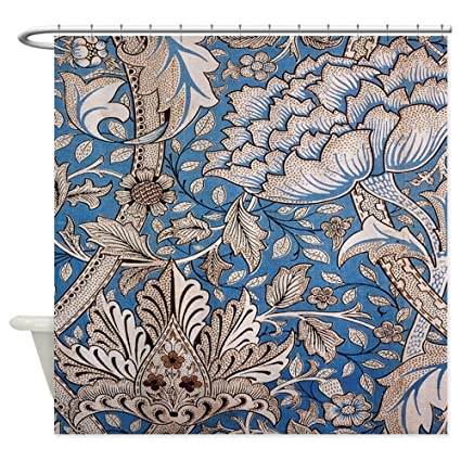 Image Unavailable Not Available For Color CafePress William Morris Floral Design Shower Curtain