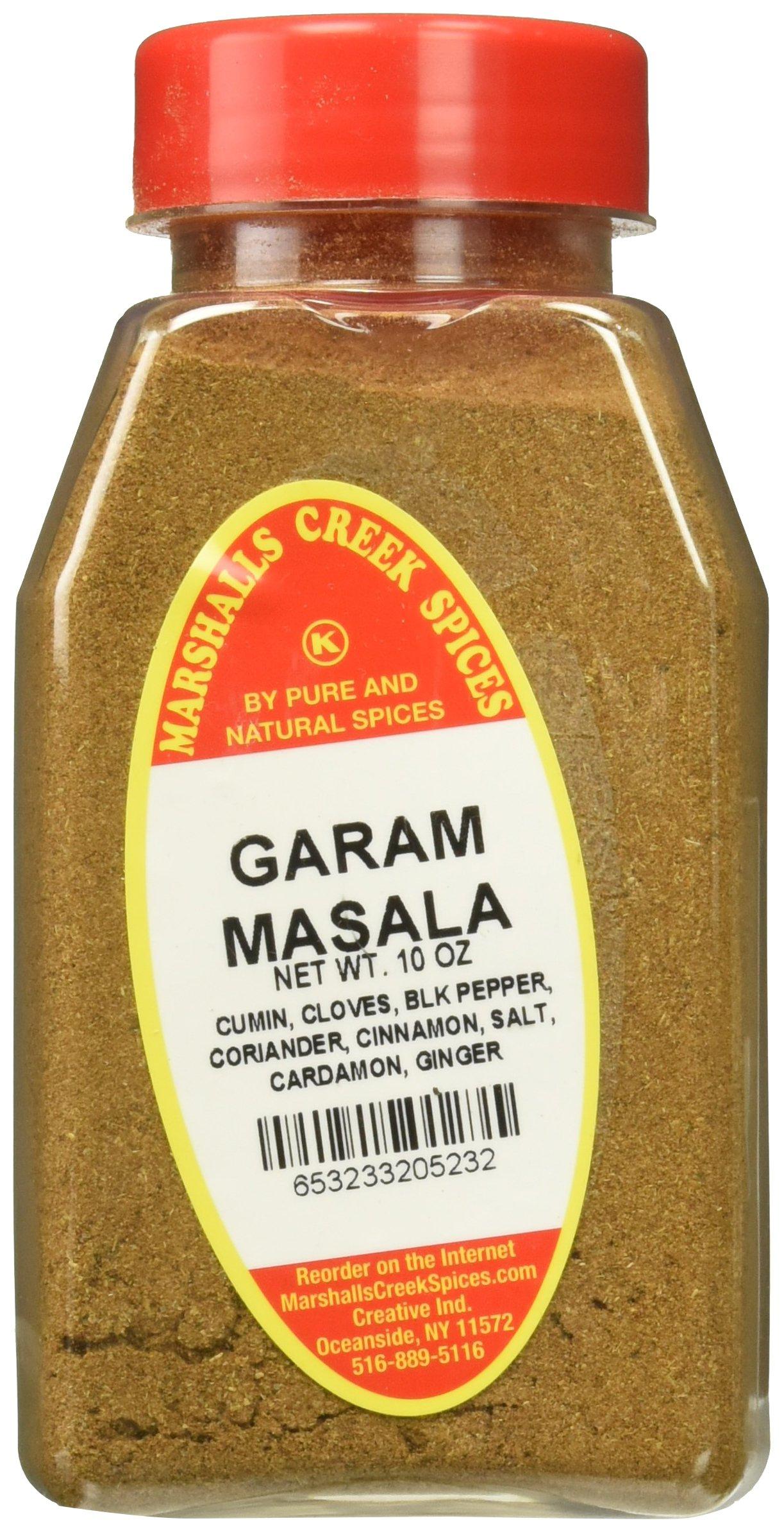 Marshalls Creek Kosher Spices GARAM MASALA SEASONING 10 oz