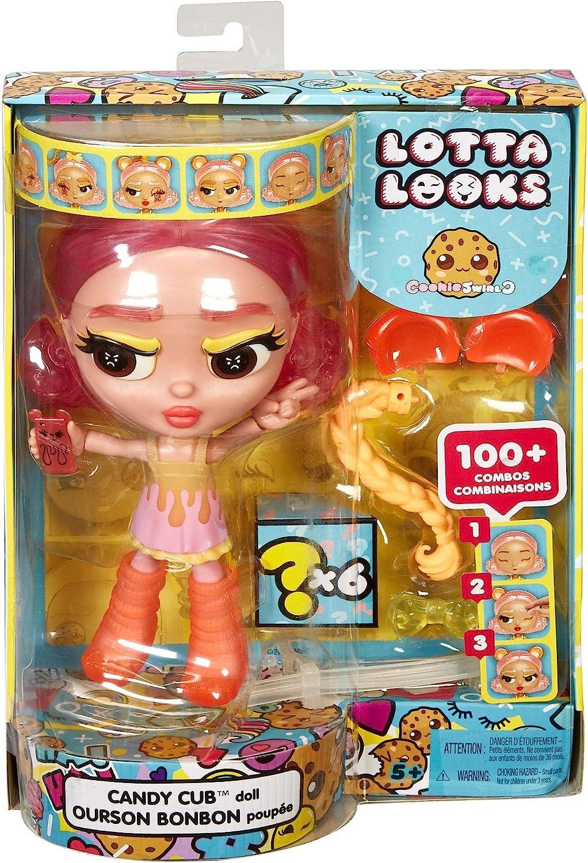 Lotta Looks Cookie Swirl Candy Cub Doll