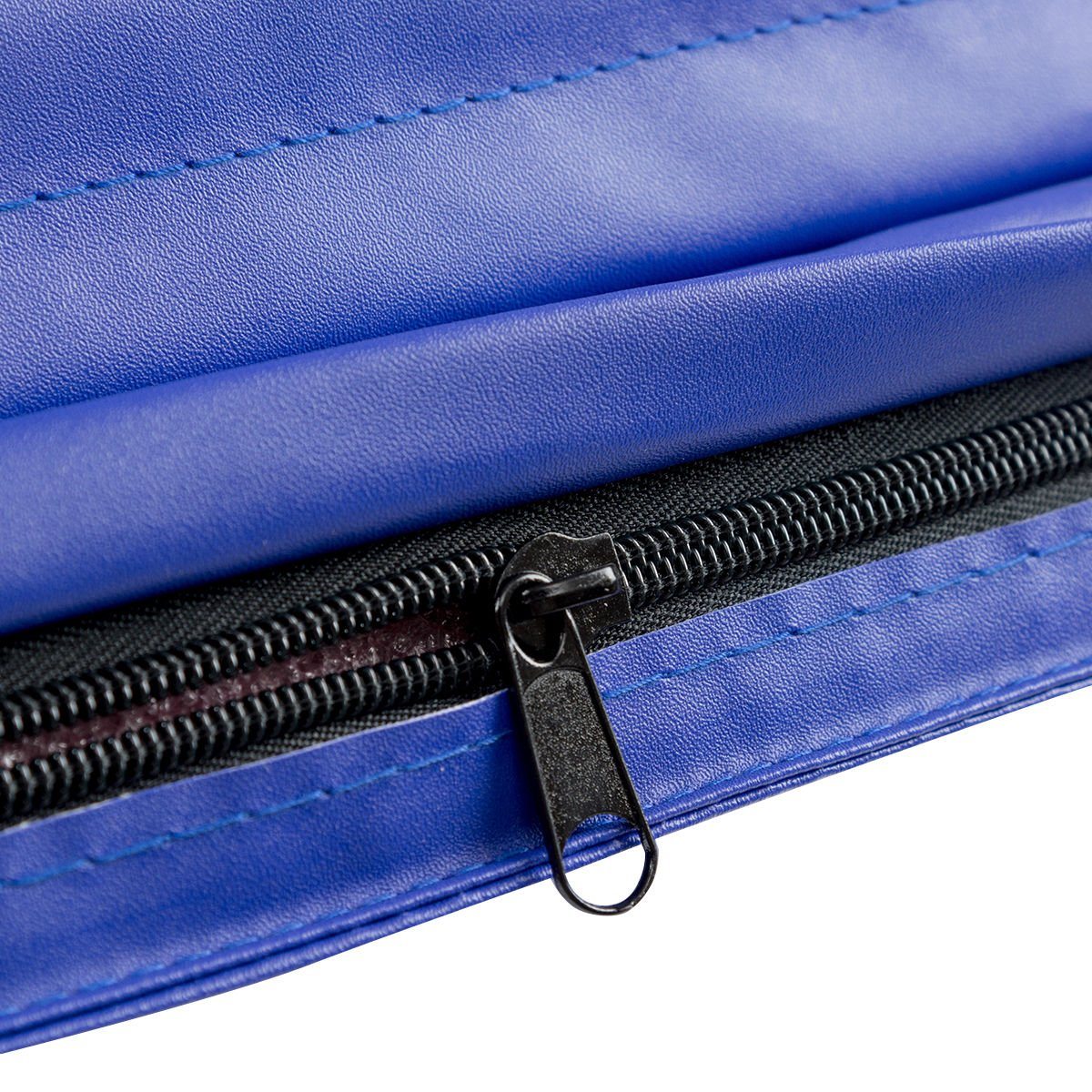 COSTWAY Blue Tri-Fold Gymnastics Mat 6X2 Folding Fitness Exercise W// Carrying Handles