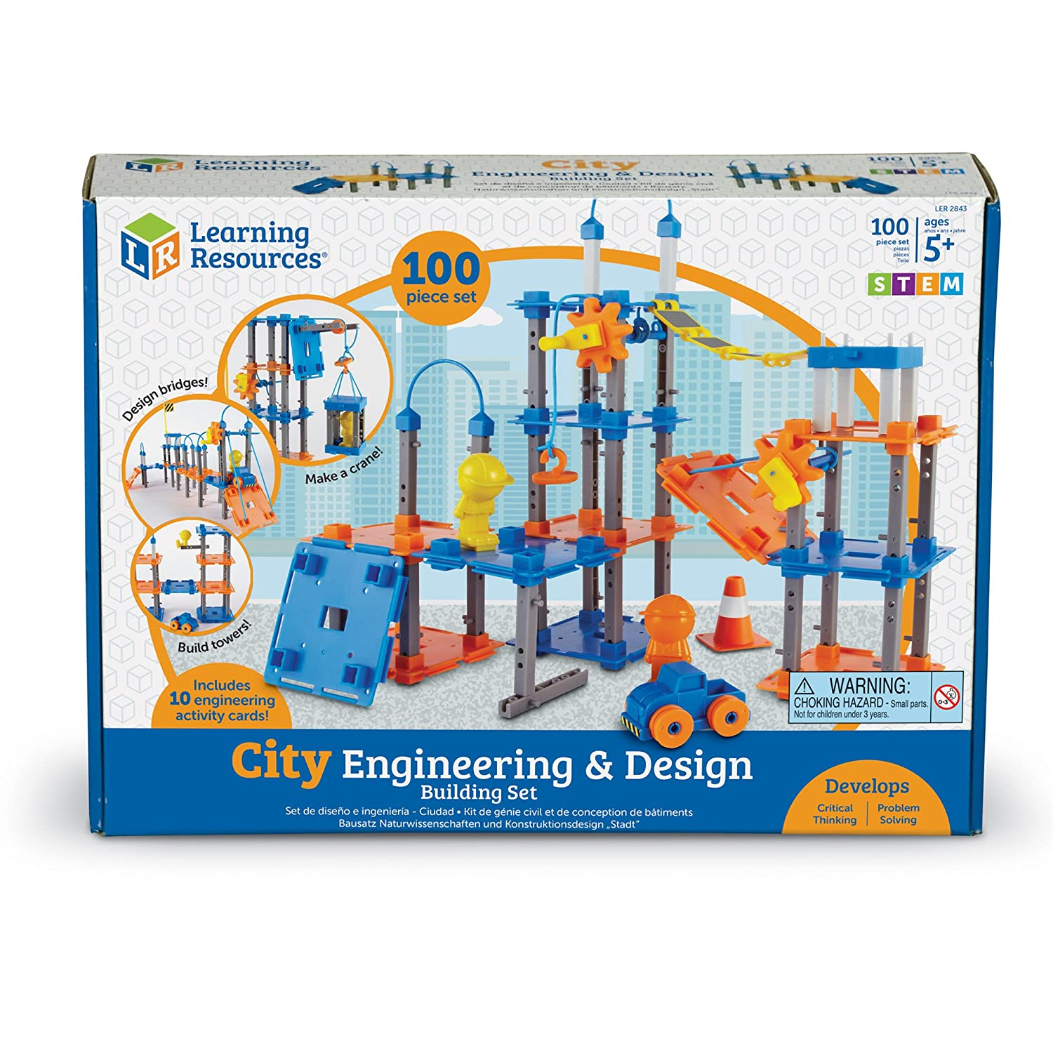 Amazon Learning Resources City Engineering and Design