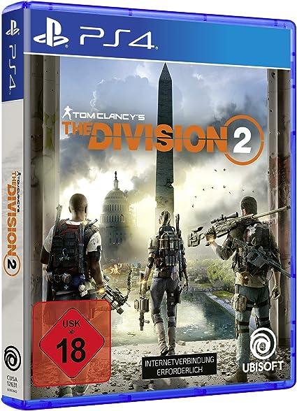 The Division 2 - PlayStation 4 [Importación alemana]: Amazon.es ...