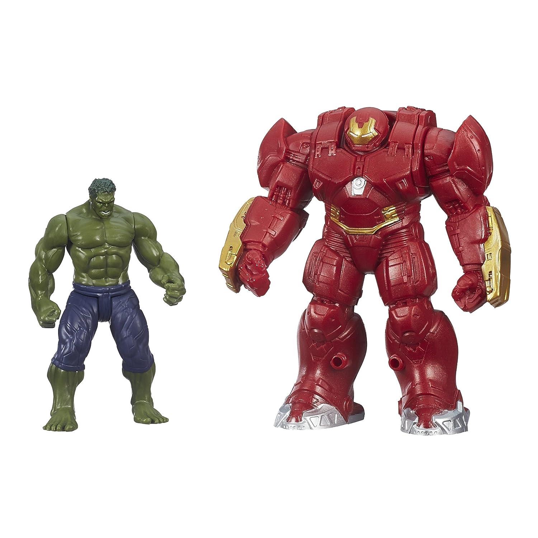 Marvel Avengers Edad de Ultron Hulk y Hulk Buster Figuras DE 2,5 Pulgadas