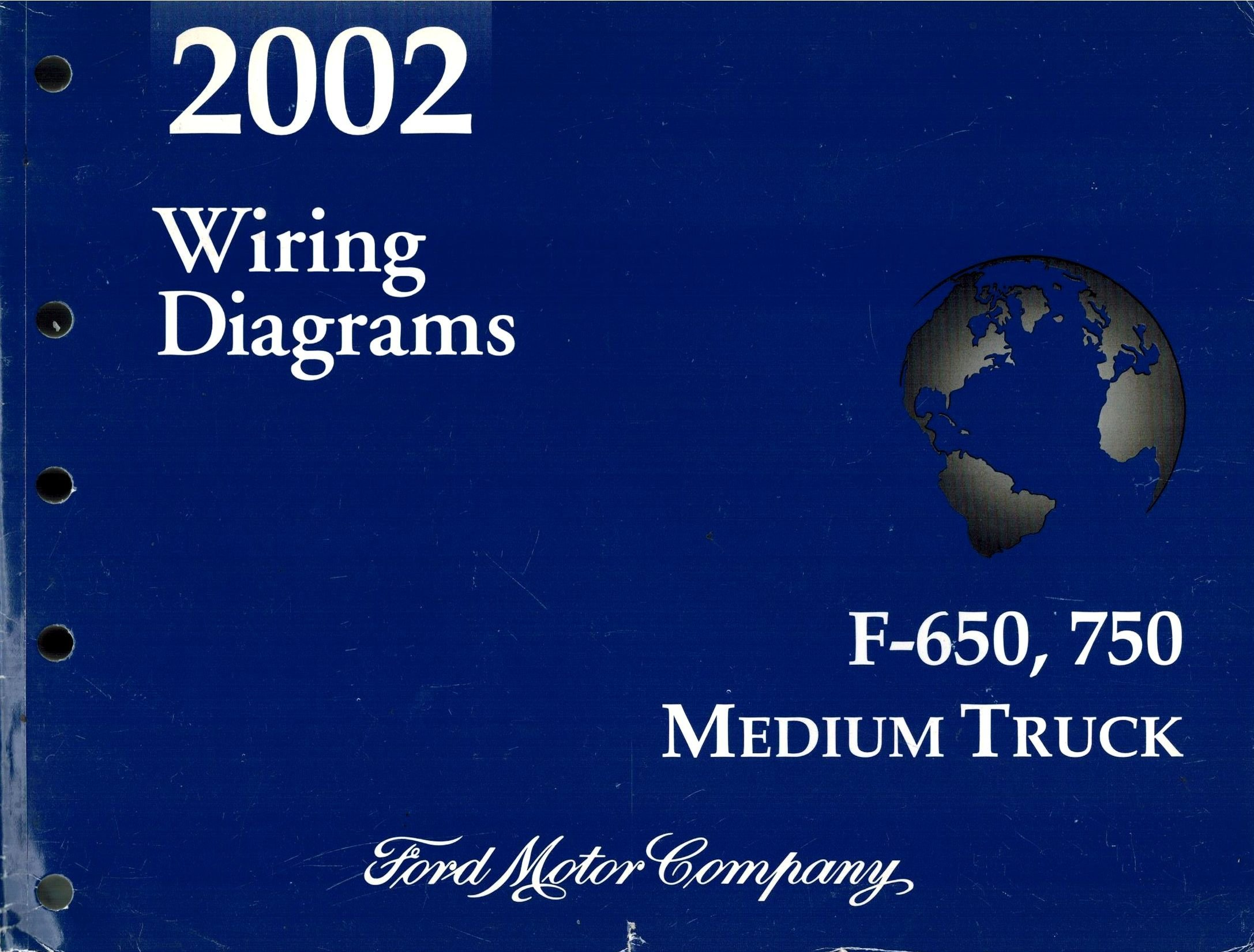 2002 Ford F-650, 750 Medium Truck Wiring Diagram: Ford Motor Company:  Amazon.com: Books