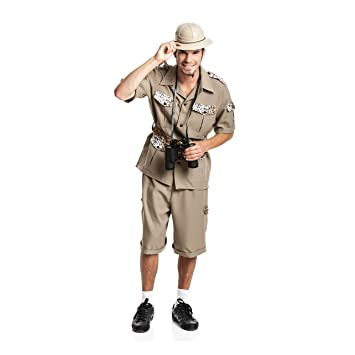 Kostumplanet Safari Kostum Herren Dschungel Kostum Forscher
