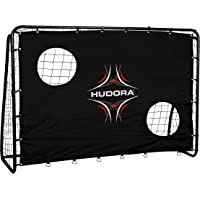 HUDORA Fußball-Tor Freekick mit Torwand, Fußball-Tor Garten - 76922