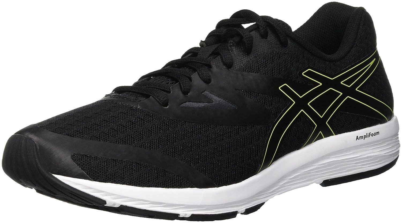Asics Amplica, Zapatillas de Running para Hombre 49 EU|Negro (Black/Neon Lime 001)