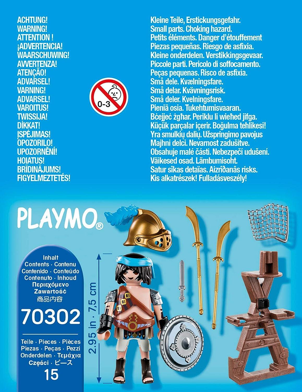 PLAYMOBIL Special Plus 70302 Gladiator mit Waffenst/änder ab 4 Jahren